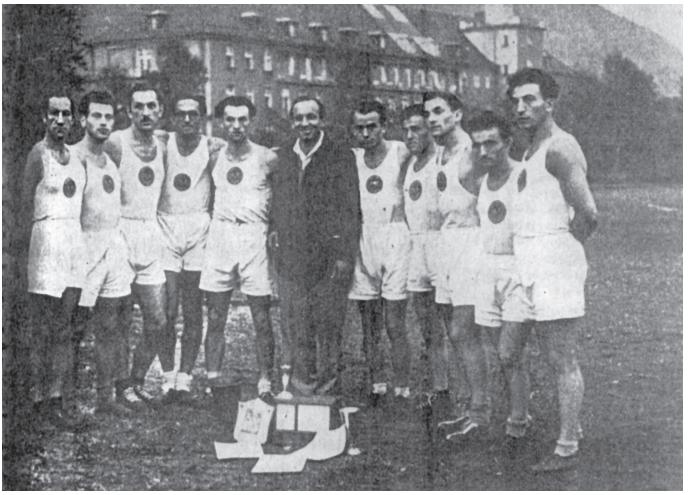 הפועל מינכן. אלופת שארית הפליטה באתלטיקה קלה ל-1947